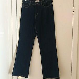 Levis 512 Bootcut Women Denim Jeans Size 14M